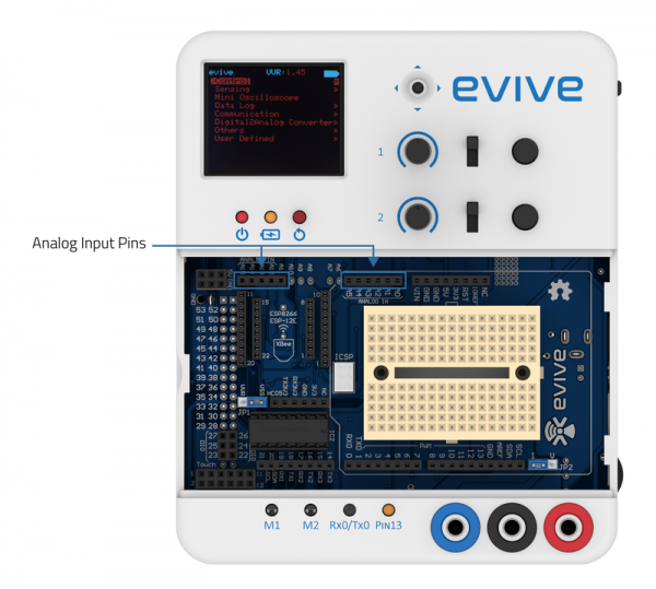 evive Analog Pins